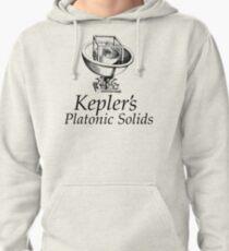 Kepler's Platonic Solids Pullover Hoodie