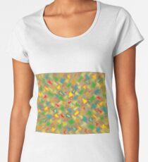 Warm Brush Strokes Women's Premium T-Shirt