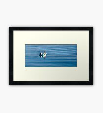 Fishing on the Gold Coast Broadwater Framed Print