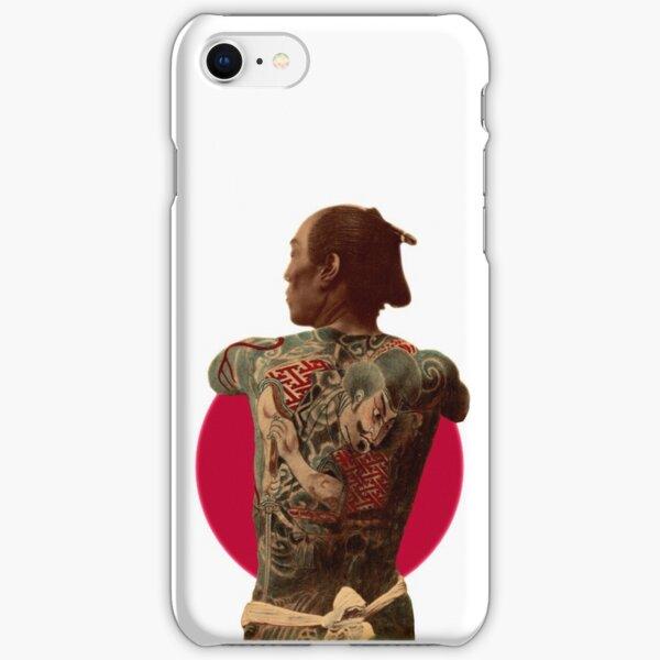 Tattooed Samurai Red Sun iPhone Snap Case