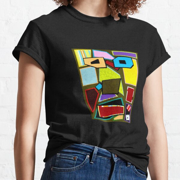 Scattered Mess (Facemadics) Classic T-Shirt