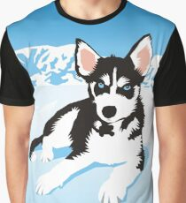 husky Graphic T-Shirt
