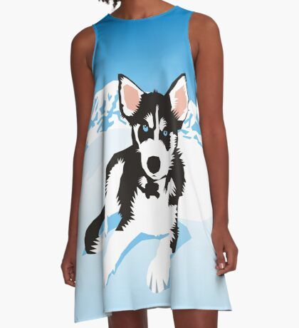 husky A-Line Dress