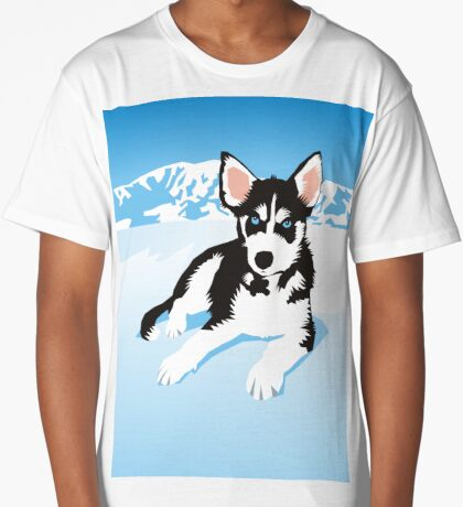 husky Long T-Shirt