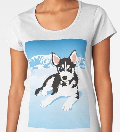 husky Women's Premium T-Shirt