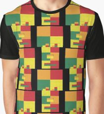 Fro Square Repeat (Facemadics colorful contemporary abstract face) Graphic T-Shirt