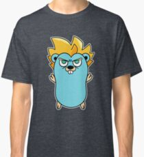 Camiseta clásica Súper Gopher - Golang