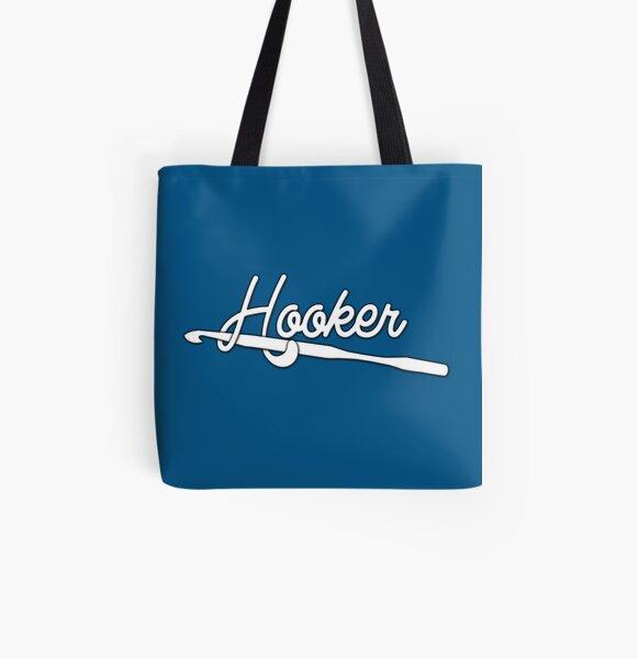 Hooker! (Crochet) All Over Print Tote Bag