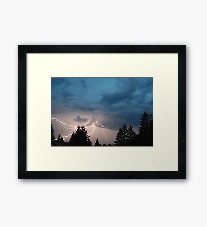 The Face of Zeus  Framed Print