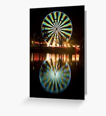 Wheel Of Colour Greeting Card