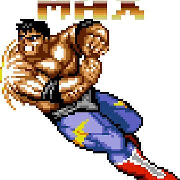 Max Thunder from Streets of Rage 2 by felixthekarl