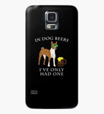 Basenji I've Only Had One In Dog Beers Year of the Dog Irish St Patrick Day Case/Skin for Samsung Galaxy