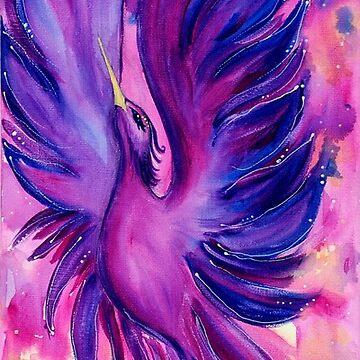 A bird by Aleksandraaz