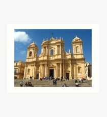 The Catedral Art Print