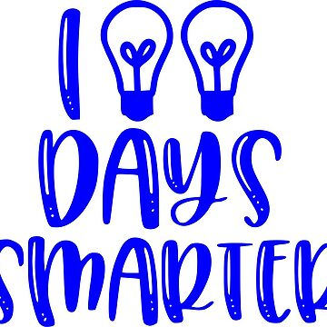 100 days smarter by Taz-Clothing