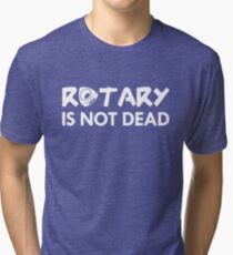 Rotary Is Not Dead T-shirt chiné