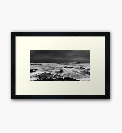 Confused Framed Print