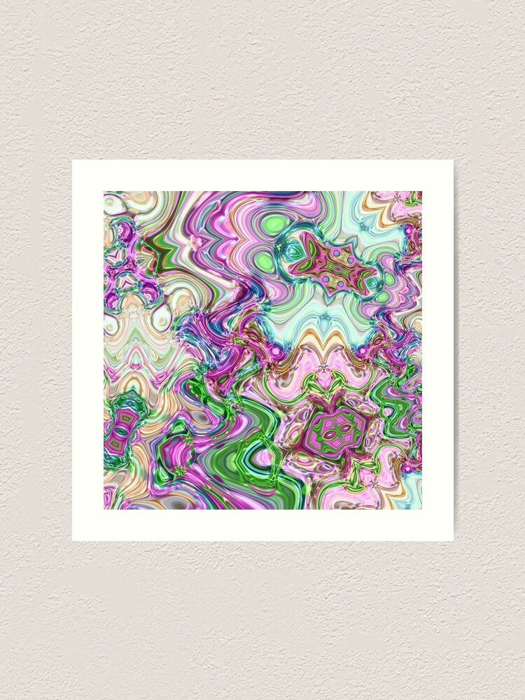 Alternate view of Transcendental Abstracts Art Print