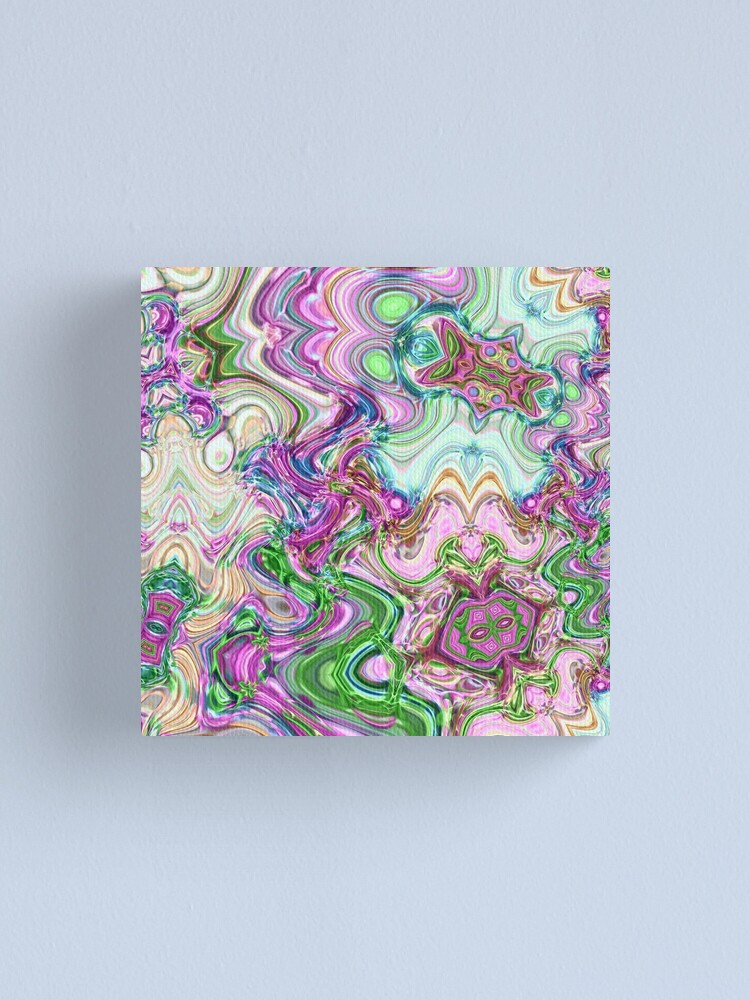 Alternate view of Transcendental Abstracts Canvas Print