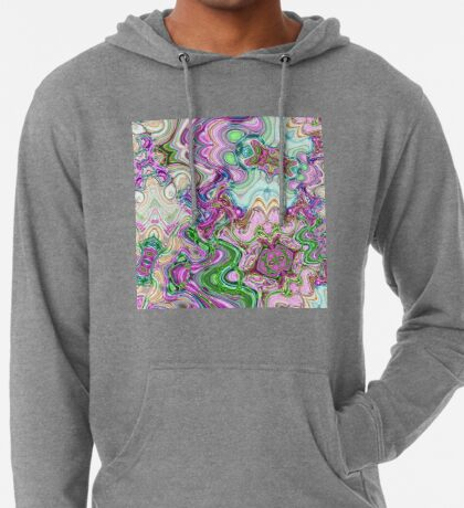 Transcendental Abstracts Lightweight Hoodie