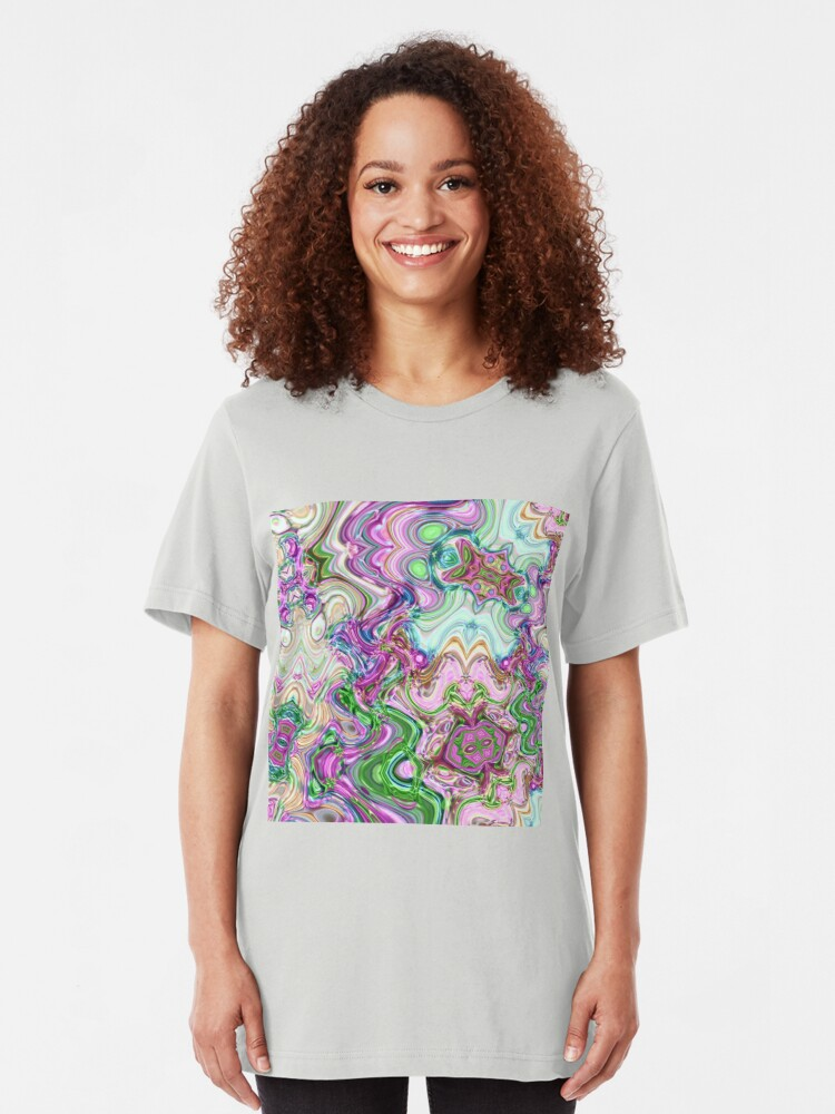 Alternate view of Transcendental Abstracts Slim Fit T-Shirt