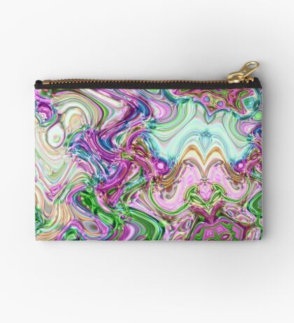 Transcendental Abstracts Zipper Pouch