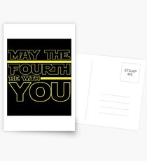 May The 4th Be With You  Postcards