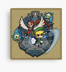 Zelda Wind Waker Earth Temple Canvas Print