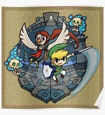 Zelda Wind Waker Earth Temple Poster