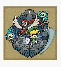 Zelda Wind Waker Earth Temple Photographic Print
