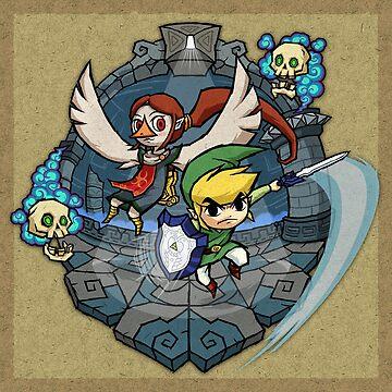 Zelda Wind Waker Earth Temple de Purrdemonium