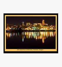 NW Waterfront Photographic Print