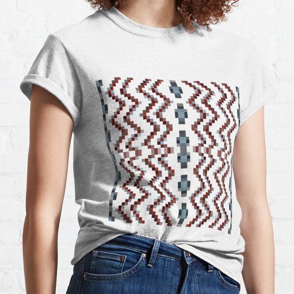 Illusion background, Structure, composition, design, drawing, illustration,  tapis, garment Classic T-Shirt
