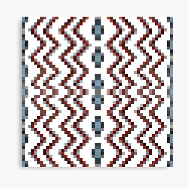 Illusion background, Structure, composition, design, drawing, illustration,  tapis, garment Canvas Print