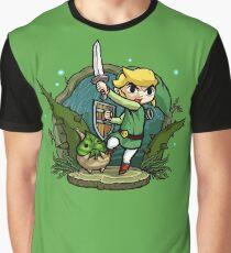 Zelda Wind Waker Forbidden Woods Temple Graphic T-Shirt