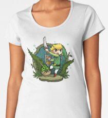 Zelda Wind Waker Forbidden Woods Temple Women's Premium T-Shirt