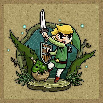 Zelda Wind Waker Forbidden Woods Temple de Purrdemonium