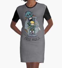 Zelda Wind Waker FREE Umarmungen T-Shirt Kleid