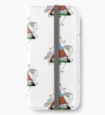 Art nouveau: Horse iPhone Wallet/Case/Skin