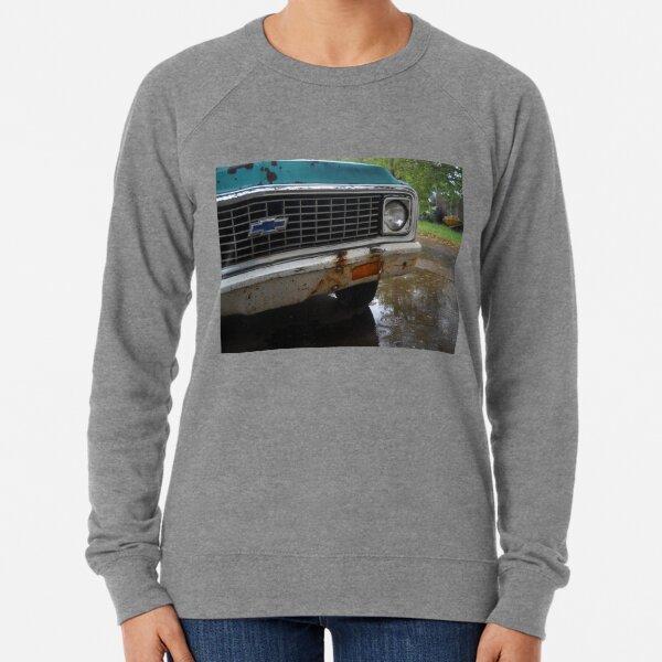 Old Chevy Truck in the Rain Lightweight Sweatshirt