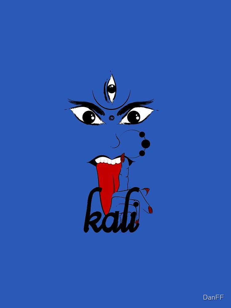 Kali - The Goddess of Destruction by DanFF