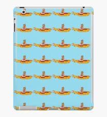 The yellow submarine of the Beatles iPad Case/Skin