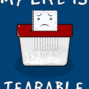 Tearable Life by mzneg