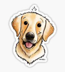 Funny Labrador Retriever Sticker