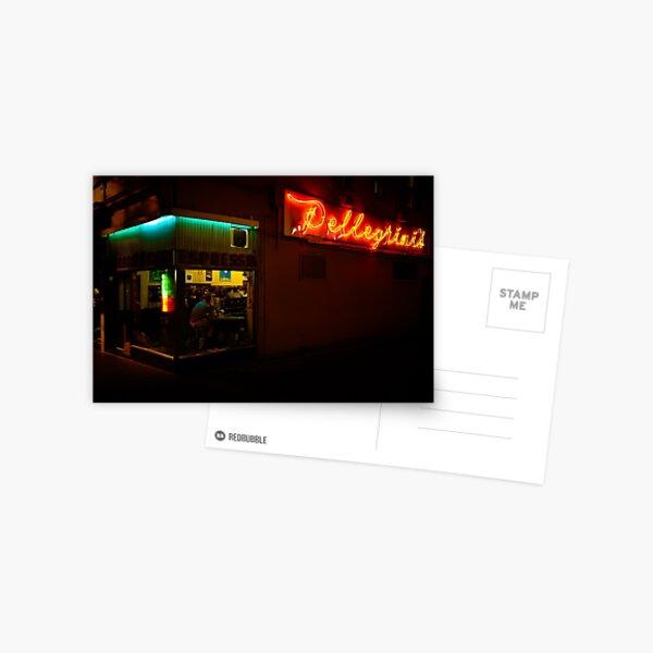 Pellegrinis at NIght Postcard
