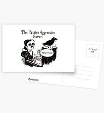 PASSIVE AGGRESSIVE RAVEN Postcards