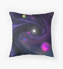 Whirlpool Nebula - Don't get sucked in Throw Pillow
