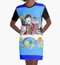 4 and Co Graphic T-Shirt Dress