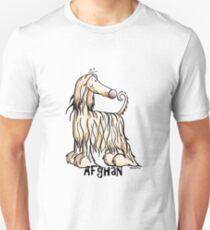 Funny Afghan Hound Unisex T-Shirt