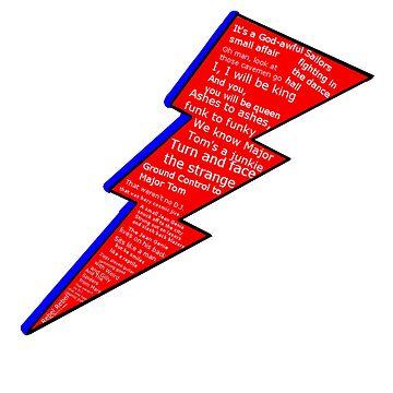 David Bowie Lyrics by EddRising